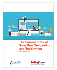 The Current State of Sales Rep Onboarding and Enablement